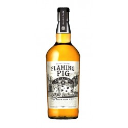 Whisky Flaming Pig