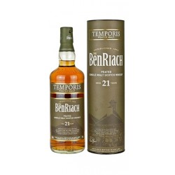 Whisky Benriach 21 Años